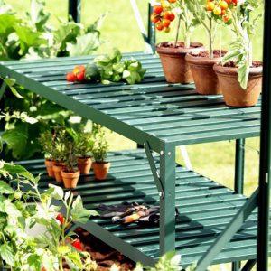 Stolik 2-piętrowy zielony Vitavia 20029