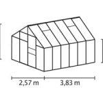 MERKUR 9900 zielona 9,9m²