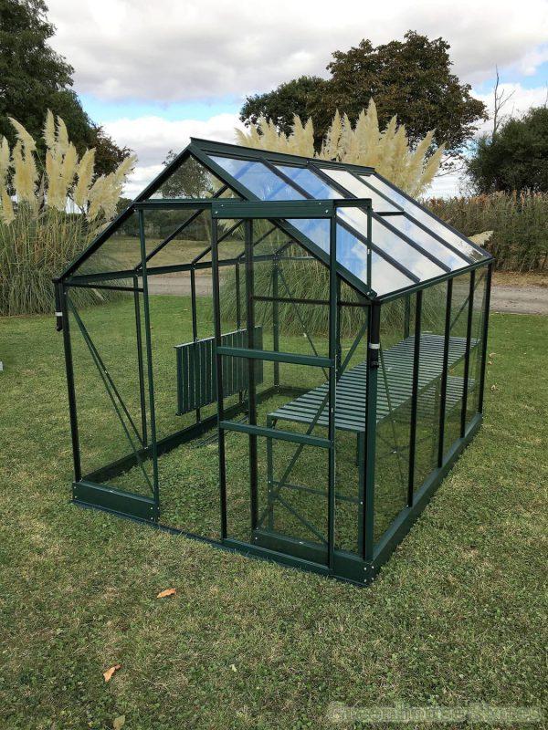vitavia-apollo-6×8-green-greenhouse-with-toughened-glass