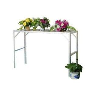 Stolik 1 piętrowy aluminiowy Vitavia 20002