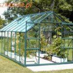 URANUS 11500 zielona 11,5m²(2,57mx4,45m)