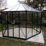Black Vitavia Hera 9000 Orangery Greenhouse