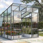 Vitavia Freya 8×8 Greenhouse in Grey